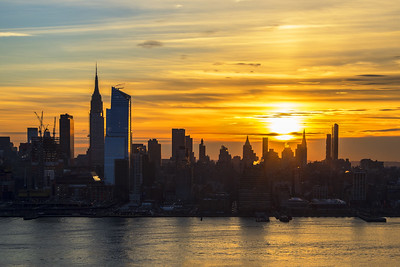 NYC-Golden Sunrise