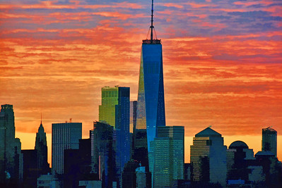 One World Trade Winter Solstice Sunrise