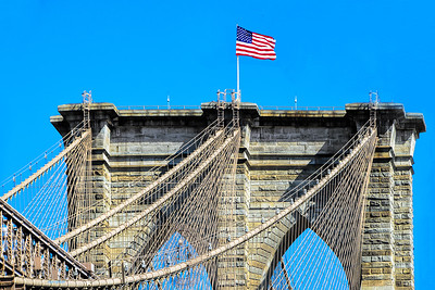 Brooklyn Bridge-Manhatan Tower