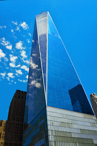 One World Trade- reflecting.