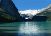 Lake Louise in early morning<br /> Banff National Park, Alberta, Canada