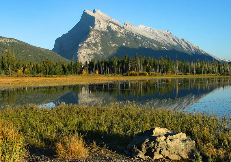 Mt. Rundle from Vermillion Lakes<br /> Banff National Park, Alberta, Canada