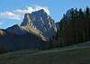 Mount Grassi at sundown<br /> Canmore, Alberta, Canada