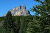 Castle Mountain from Moose Meadows<br /> Banff National Park, Alberta, Canada