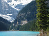 Mountains at Lake Louise<br /> Banff National Park, Alberta, Canada