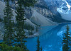 Moraine Lake at dawn<br /> Banff National Park, Alberta, Canada