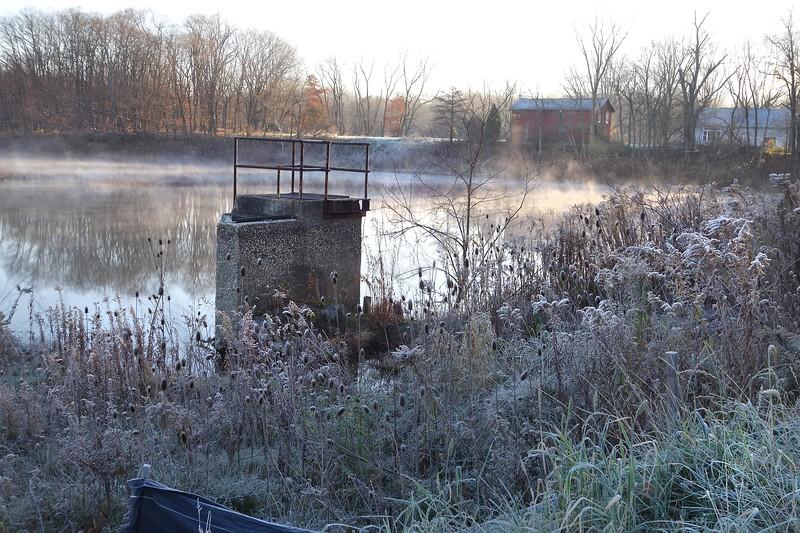 Marsh November Frost and Fog  5