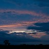 As we were leaving Oklahoma the sun was rising and the clouds were passing by. It had been raining on us the last two days. Only had a few munites to take the photos before the clouds covered the sunrise.