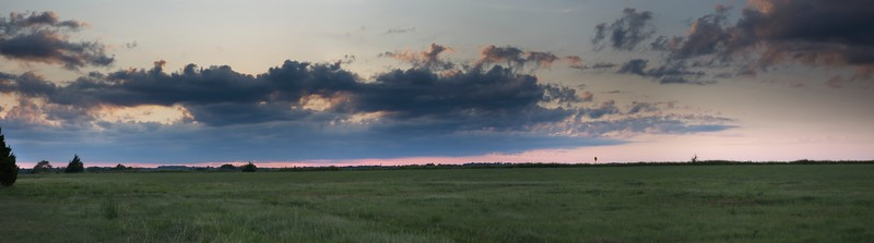 Sept 02 2019, Labor Day weekend in Oklahoma Sunset