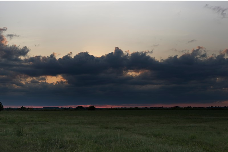 Labor day weekend, 02 Sept 2019, sunset in Oklahoma.