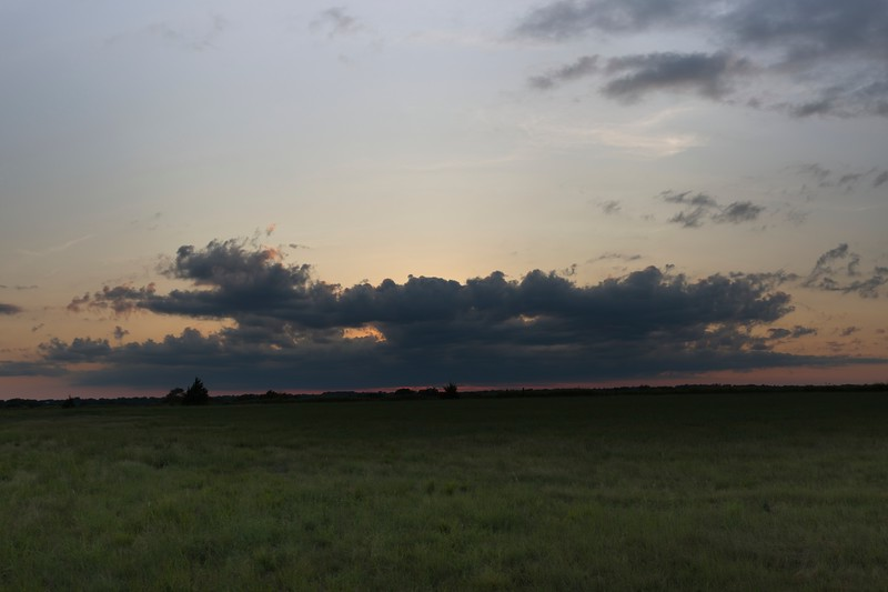 2019 Labor day weekend sunset in Oklahoma