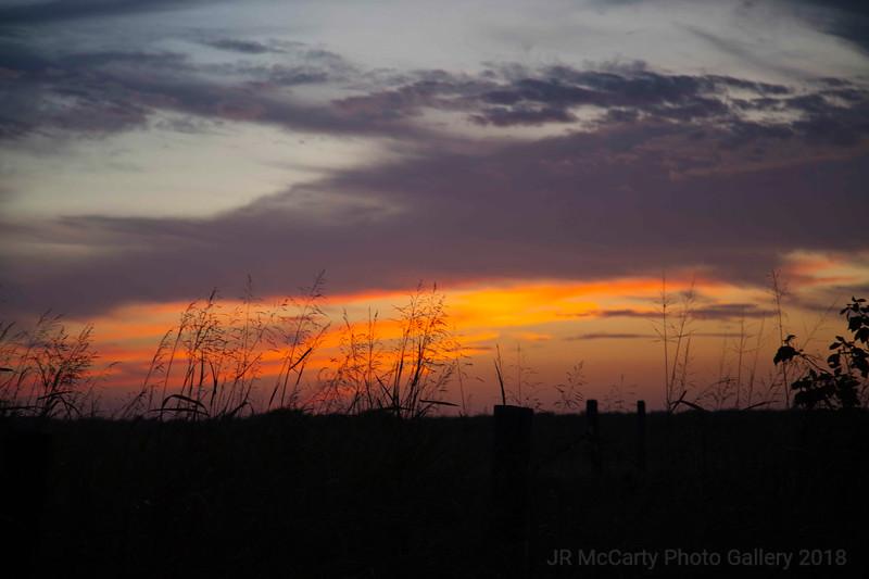Oklahoma Sunset Sept 2013