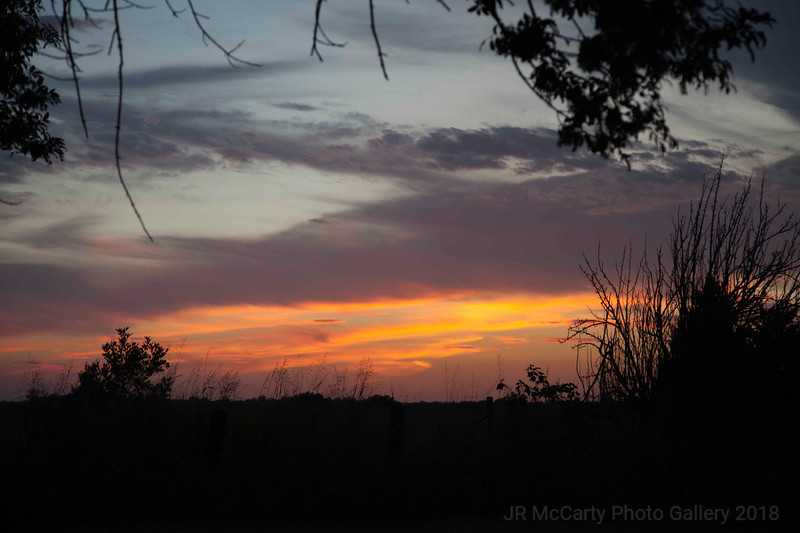 Oklahoma Sunset Sept 2013