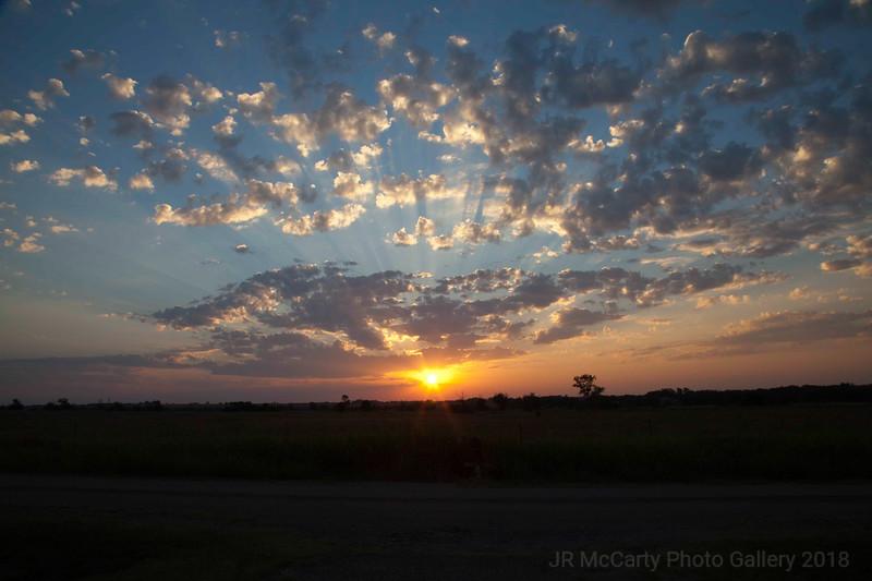 Okla Sunrise in Sept 2013