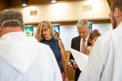 Mia's Baptism