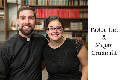 Pastor Tim & Megan Crummitt 2 4x6