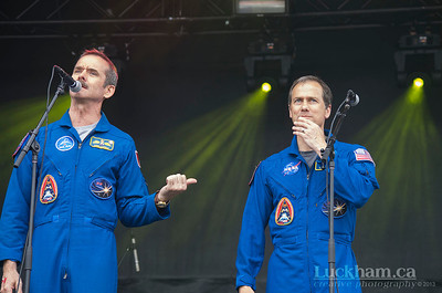Q&A with Canadian Astronaut Chris Hadfield and American Astronaut Tom Marshburn