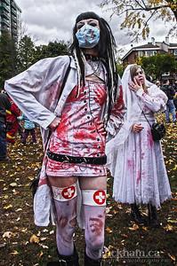 Nurse Zombie - Zombie Walk 2013