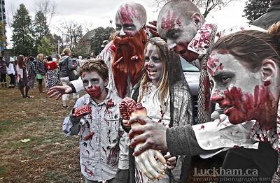 Zombie Family Picnic - Zombie Walk 2013