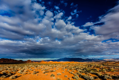 Cloud Formations Over Valley Of Fire_