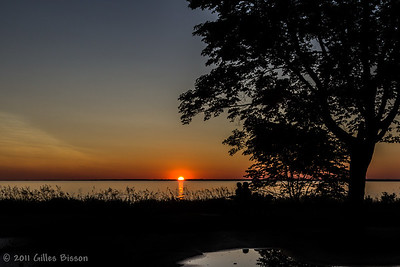 Sunset at Sandbanks Provincial Park, July 13 2011