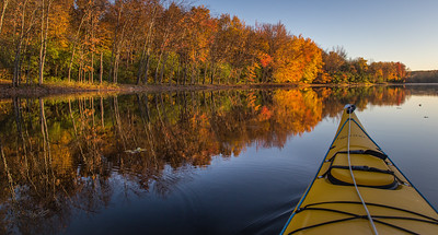 Early morning paddle on Moira river