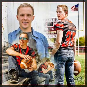 Josh Reifsteck 12x12 Football