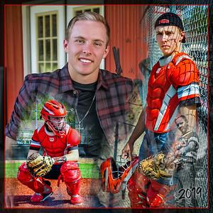 Josh Reifsteck 12x12 Baseball