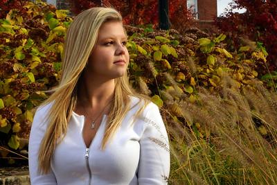 Ali In Front of Grasses