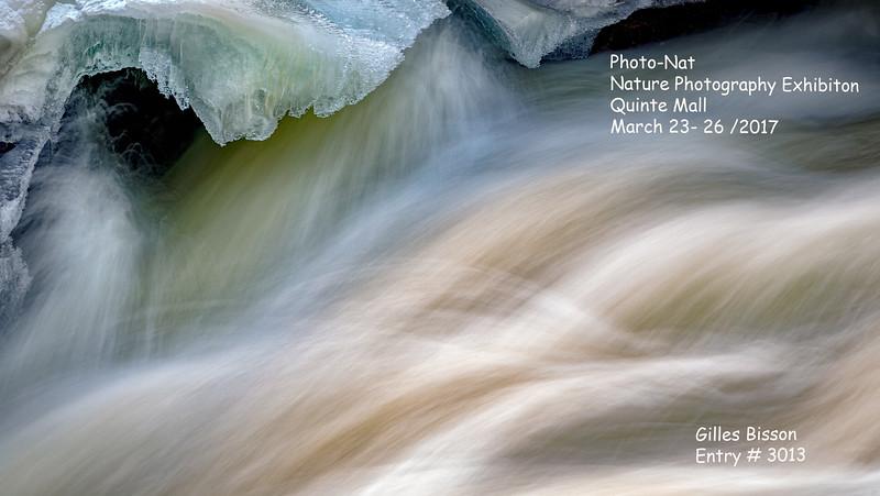 Cordova Lake Dam, Crowe Valley Conservation Area, February 06 2016, Canon 6D, .5 sec, F16, ISO 50