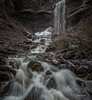 Waterfall, Waupoos, Prince Edward County, January 28,2017,Canon 6D, 1/6 sec, F14, ISO 50