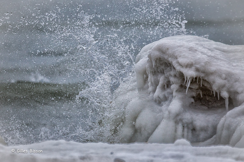 Ice formation, Presqu'ile Provincial Park, January 6,2015, Canon 6D, 100-400mm,1/2500,F6.3,ISO1000