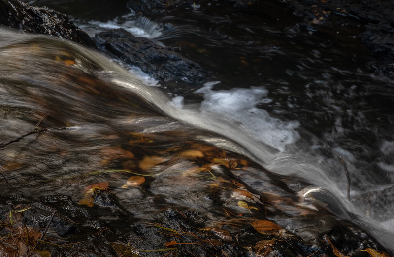 Waterscape HIgh Falls, Skootamatta River, October 09, 2018, Canon 7D, Mark II, 1/4 sec, F146 ISO 100