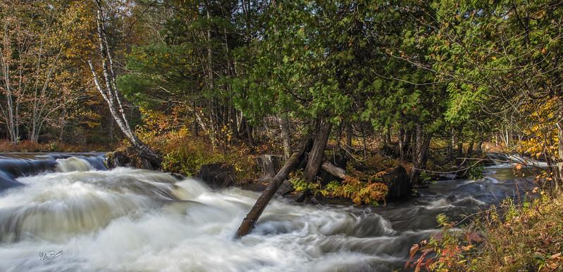 Cordova falls, Havellock, October 21, 2017, Canon 6D, .32mm, 5sec,  F16, ISO 50
