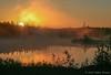 Balsam Lake sunrise, August 21 2007