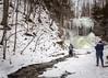 Jackson Falls in Winter