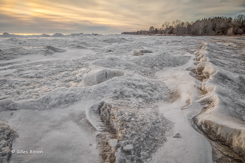 Ice formation, Presqu'ile Provincial Park, January 26,2015, Canon 6D, 24-105mm,1/100 ,F9.0, ISO 200