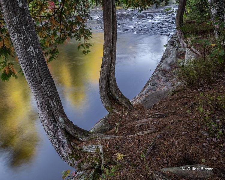 Tea Lake Dam, landscape, September 27 2015, Canon 6D, 24-105mm, 3.2 sec, F16, ISO 50