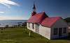 Tadoussac, Quebec, oldest wooden church in North America, Sept 04 2013,#6265-Canon 6D-24-105mm-1/125-f13-ISO100-LR5
