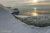 Ice Formation, Presqu'ile Provincial Park, #9930 Feb 1 2014, Canon 6D 1/60 F11 ISO100