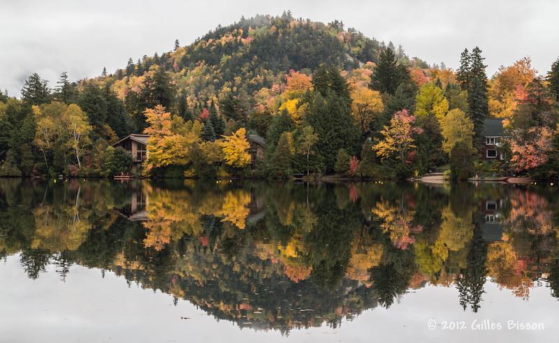Mirror Lake, October 03 2012, Lake Placid, New York