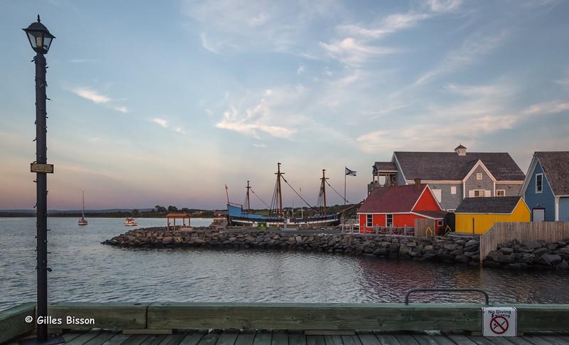 Pictou Harbour, Nova Scotia, Sept 06 2015, Canon 6D, 24-105mm, 1/100, F 10.0, ISO 800
