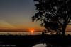 Sunset at Sandbanks Provincial Park, July 13 2011