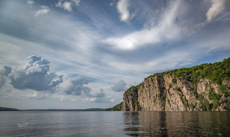 Mazina Rock, Mazina Lake, Bon Echo Provincial Park, August 2, 2018, Canon 6D,  24-105mm, 1/250, F9.0, ISO 160