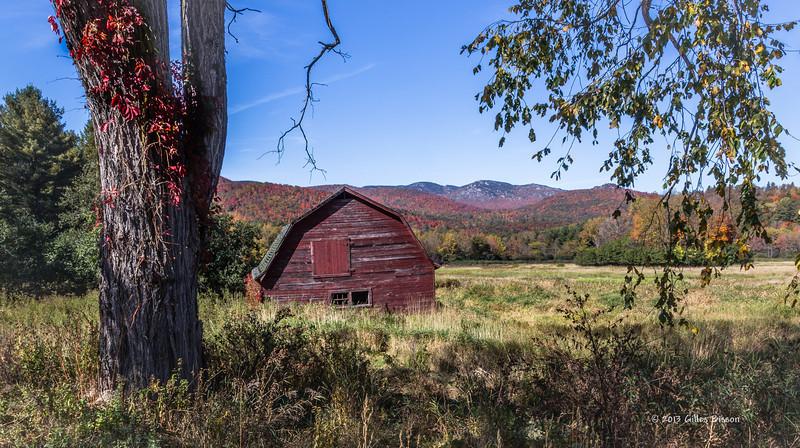 Landscape, Highway 73, New York, Oct 3 2013, #8921, Canon 6D-1/6sec-F22-ISO50-LR5