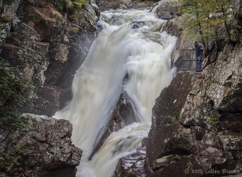 High Falls Gorge, New York, October 05 2012