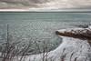 Ice,Sandbanks Provincial Park, February 21 2016, Canon 6D 1/4 sec, F20, ISO 50