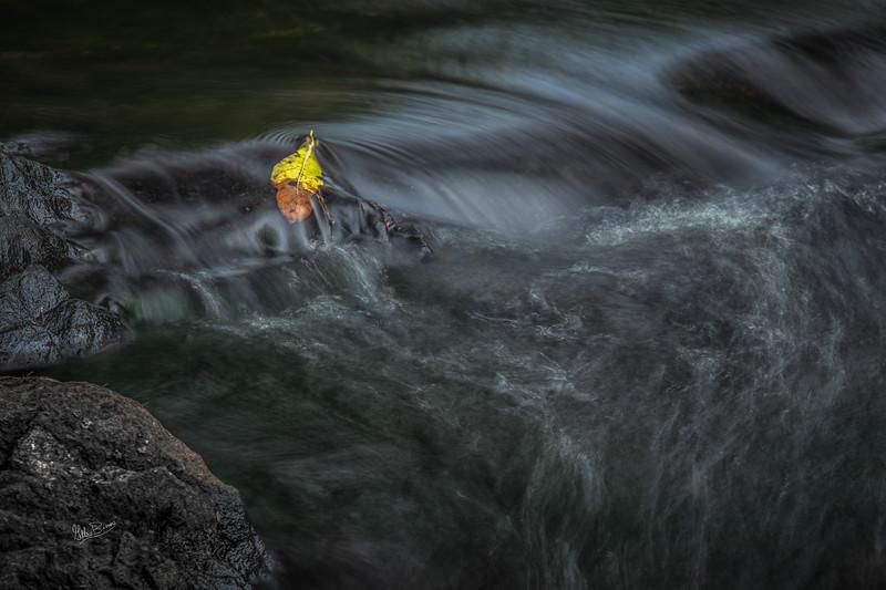 Waterscape, HIgh Falls, Skootamatta River, September 04, 2018, Canon 6D, 1.sec, F18, ISO 50