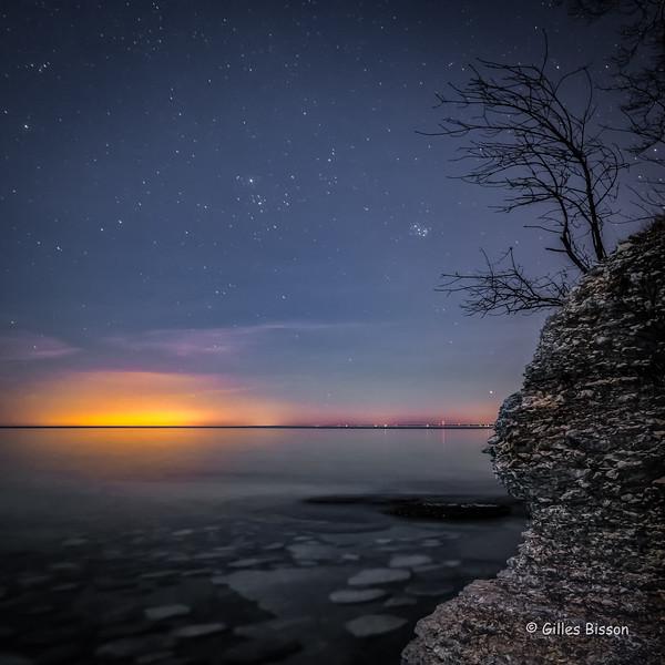 Sandbanks night shot
