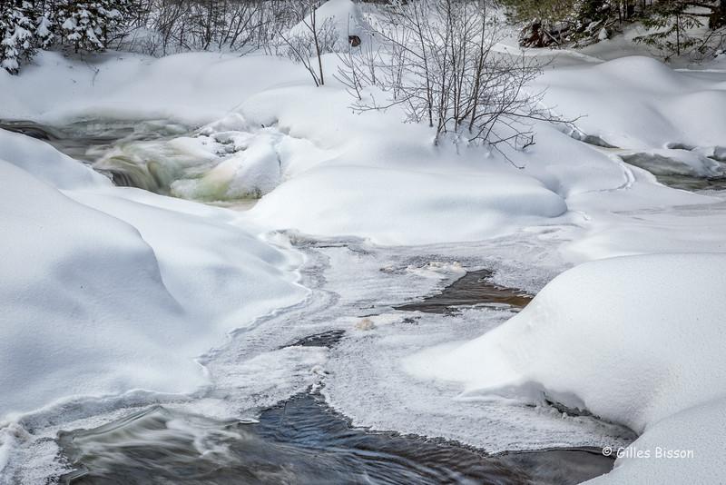 Snowscape, Algonquin Park, March 6 2016, Canon 6D, 24-105mm, 1/4sec, F22, ISO 50